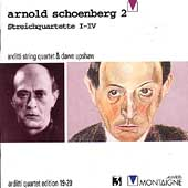 Schoenberg: Streichquartette I-IV / Arditti Quartet, Upshaw