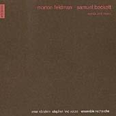 Feldman: Words and Music / Omar Ebrahim, Stephen Lind, Ensemble Recherche