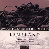 Lemeland: Omaha, Concerto pour harpe, etc / Tardue, et al