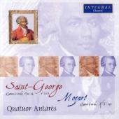 J.B.de Saint-George: Quatuor a Cordes Op.14-1-Op.14-6; Mozart: Quatuor a Cordes No.5 KV.158 / Quatuor Antares