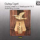 Ligeti: Streichquartett Nr. 1, Nr. 2 / Arditti Quartet