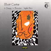 Carter: In sleep, In thunder. Triple Duo
