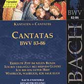 Bach: Cantatas 83-86