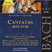 Bach: Cantatas Nos 87-90
