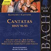 Bach: Cantatas Nos 91-93