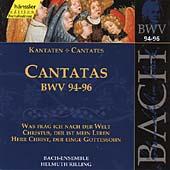 Bach: Cantatas Nos 94-96