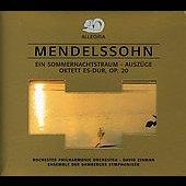 Mendelssohn: Midsummer Night's Dream (Excerpts). /Octet In  Eflat Major Op.20