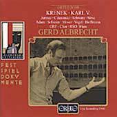 Festspieldokumente - Krenek: Karl V / Albrecht, et al