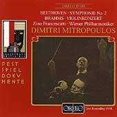 Festspieldokumente - Beethoven: Symphony no 2;  Brahms