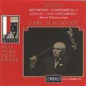 Beethoven: Symphony No. 3; Stoelzel: Concerto Grosso