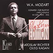 Kagan Edition Vol 2- Mozart: Sonaten fuer Klavier und Violine