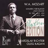 Kagan Edition - Mozart: Sonaten fuer Klavier und Violine