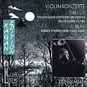 Kagan Edition - Violinkonzerte - Sibelius, Berg