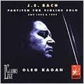 J.S.Bach: Partitas for Violin Solo No.1 and 2