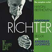 Beethoven; Haydn; Reger / Richter, Lucewicz, et al