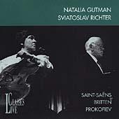 Saint-Saens, Britten, Prokofiev / Gutman, Richter