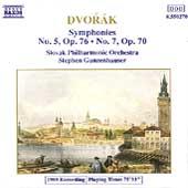 Dvorak: Symphonies Nos. 5 & 7