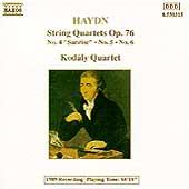 Haydn: String Quartets Op. 76 Nos. 4