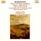 Schumann: Works For Oboe & Piano