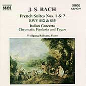 Bach J.s.: French Suites Bwv 812 & 813