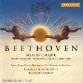 ベートーヴェン:ミサ曲、四重唱と弦楽のための「悲歌」、カンタータ「静かな海と楽しい航海」/ヒコックス指揮、コレギウム ムジクス90