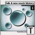 フォーク&ニューミュージック・ヒストリーVol.1 東芝EMI篇《20世紀BEST》