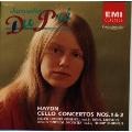ハイドン:チェロ協奏曲第1番&第2番/デュ プレ(VC)、バレンボイム指揮 ECO、バルビローリ指揮 LSO