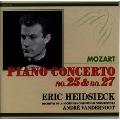 モーツァルト:ピアノ協奏曲第25番&第27番