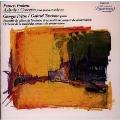 プーランク:オーバード|ピアノ協奏曲《フランスのエスプリ シリーズ》