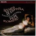ロマンティック ギター クラシックス~スペインの夜@〔タレガ;大ホタ/ソル;幻想曲ニ短調/アルベニス;特徴あるピアノ曲集 他〕ロメロ(g)