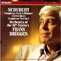 シューベルト:交響曲第8番ロ短調《未完成》&第6番ハ長調