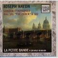 ハイドン:ロンドン(ザロモン)交響曲集IV