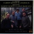 モーツァルト;クラリネット五重奏曲イ長調/クルーセル;クラリネット四重奏曲第1番@ライスター(cl)ウィーンSQ