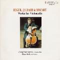 レーガー;無伴奏チェロ組曲第3番/バッハ;同第6番/モーツァルト;チェロとコントラバスのためのソナタ変ロ長調@バウマン(vc)