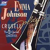Emma Johnson plays Crusell