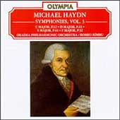 M Haydn: Symphonies vol 3 / Rimbu, Oradea Philharmonic Orchestra