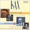 A.BAX:SYMPHONIES NO.1/NO.7:MYER FREDMAN(cond)/RAYMOND LEPPARD(cond)/LPO