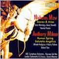 Nicholas Maw :Scenes and Arias/A.Milner:Salutatio Angelica Op.1/Roman Spring