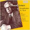 Daniel Jones: Symphonies No.4/No.7/No.8 :Charles Groves(cond)/RPO/Bryden Thomson(cond)/BBC Welsh SO