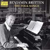 Britten: The Folk Songs / Bedford, Lott, Langridge, et al