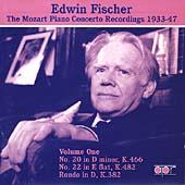 Edwin Fischer - Mozart Piano Concerto Recordings Vol 1