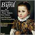 Byrd: Mass for Four Voices;  Taverner / Pro Cantione Antiqua