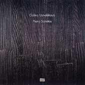 Galina Ustvolskaya: Piano Sonatas / Hinterhaueser