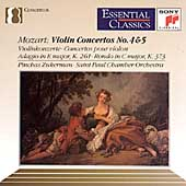 Mozart: Violin Concertos 4 & 5, etc / Zukerman, St. Paul CO
