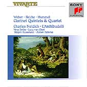 Weber/Hummel/Reicha: Works for Clarinet