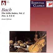 Bach: Solo Cello Suites Nos 4-6