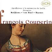 F.Couperin: Apotheose a la memoire de Lully, Sonates