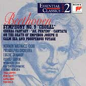 Beethoven: Symphony No 9; Choral & Vocal Works