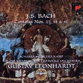 Bach: Cantatas BWV27, 34 & 41