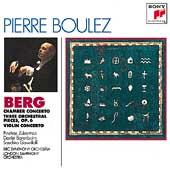 Berg: Violin Concerto etc